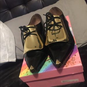 Jeffrey Campbell Patent Leather Oxfords